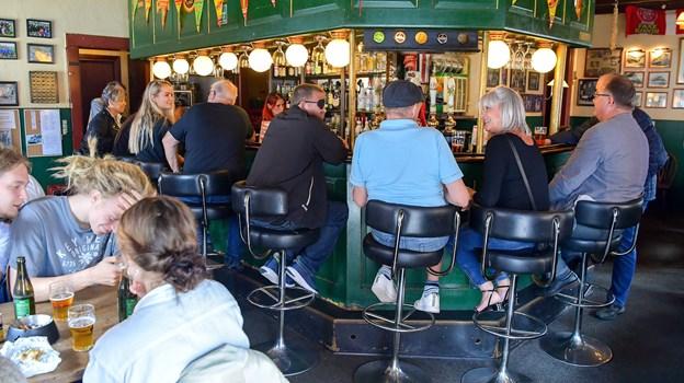 Der er et helt specielt sammenhold på Café Alpha. Foto: Jesper Thomasen