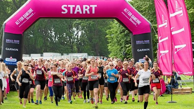 7. juni er der ALT for damernes kvindeløb med start fra Lindholm Strandpark. Privatfoto