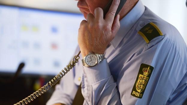 Aalborg Politi   Genrefoto fra Politiets alarmcentral   Foto: Claus Søndberg