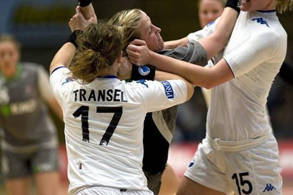 Heidi Løke er ny i ADH-truppen fra søndagens sejr i EHF Cup'en. Foto: Per Kolind