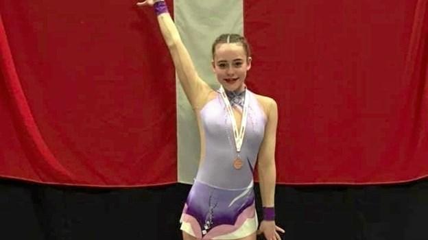 Ved JM i senior 2. division vandt Camilla Kilgast Christensen en flot bronzemedalje.