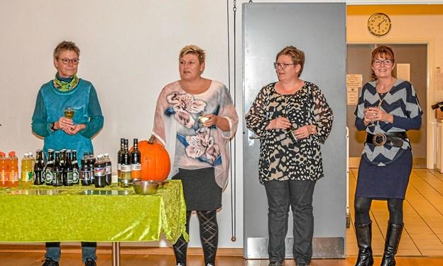 Vindblæs Borgerforenings aktivitetsudvalg bød velkommen til de fremmødte. Foto: Mogens Lynge
