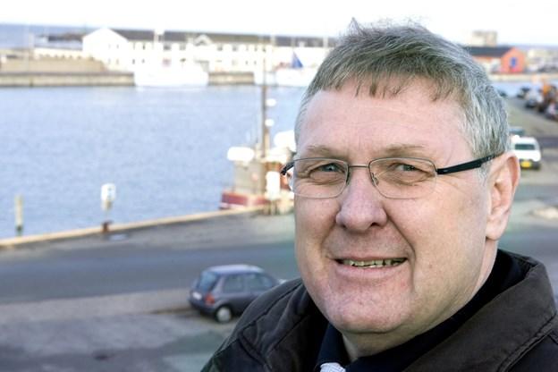 Jørgen Christensen, afgående formand for Hirtshals Turistforening  Foto: Henrik Louis