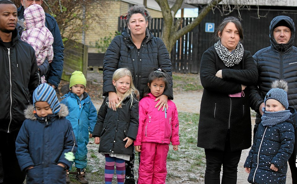 Der lyttes til Børne- og Familieudvalgets formand: Ulla Flintholm. Foto: Flemming Dahl Jensen