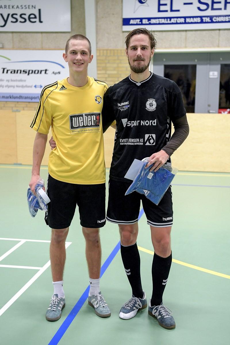 Viktor Svarre (t.v.) og Niki Fischer. Foto Lars Pauli © Lars Pauli