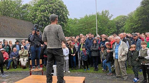 Mandag aften dukkede flere hundrede borgere op, da Bonderøven deltog ved et såkaldt kickoff-møde, som skal resultere i mere vild natur i Hjørring kommune.