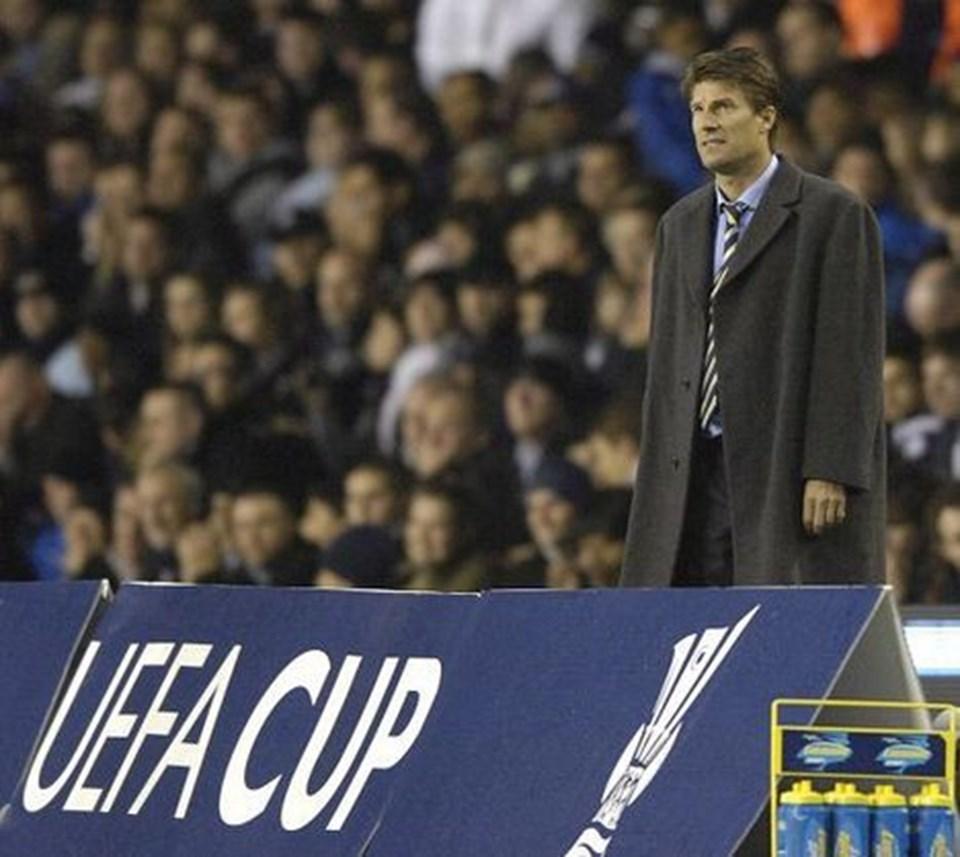 En forfærdelig sæsonstart begyndte at vende, da Michael Laudrup styrede sit Getafe-mandskab til sejr i udekampen mod Tottenham i UEFA Cup¿en. scanpix