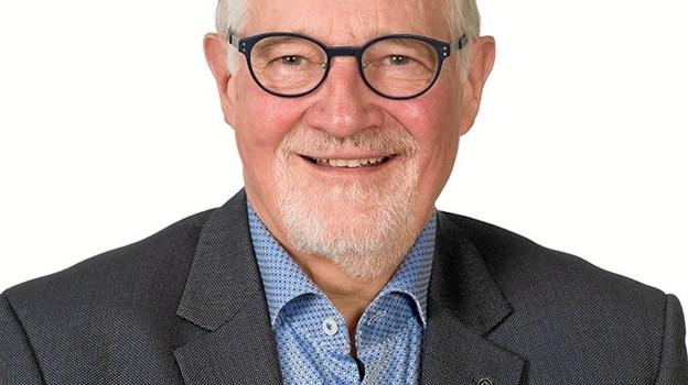 Ole Knudsen, der 6. marts fylder 70 år, stod på plakaten til seniorrådsvalget i 2017, hvor han blev valgt ind med 508 stemmer. Arkivfoto
