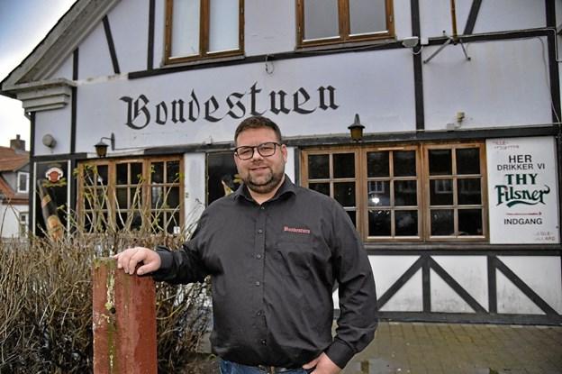 Brian Langballe Kristiansen er ny bestyrer af Bondestuen. Foto: Ole Iversen