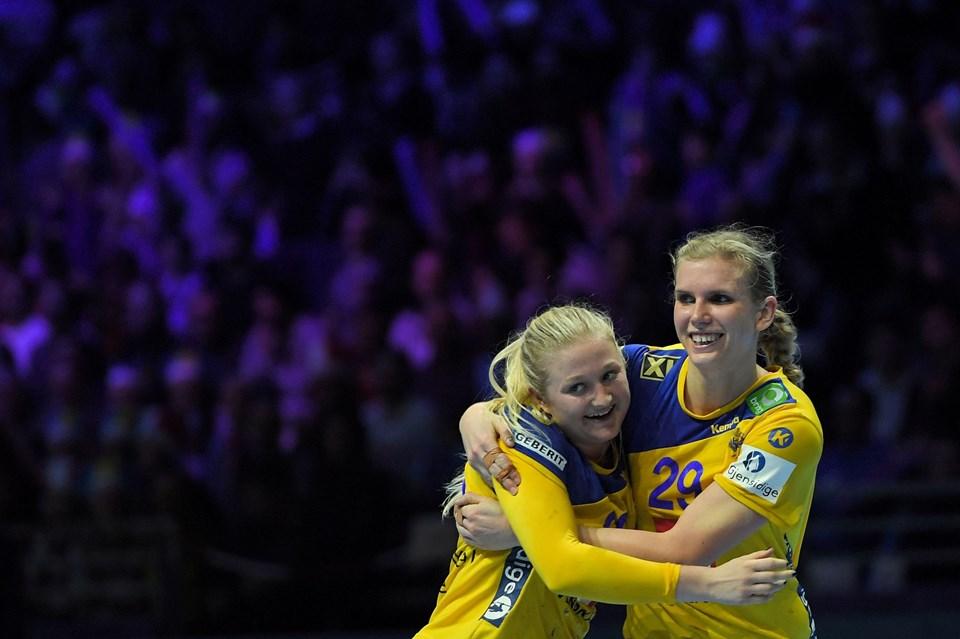 0cd7cefe2e5 De svenske håndboldkvinder tabte torsdag til Montenegro i mellemrunden ved  EM i håndbold.
