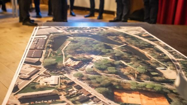 Fremtiden for Hedelund blev drøftet på borgermøde. Foto: Martin Damgård