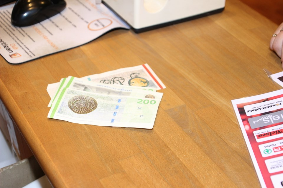 Pengene slog til ... Foto: Hans B. Henriksen