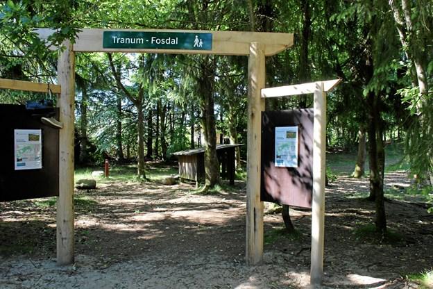 Centret ligger klods op ad Fosdalen, og det er oplagt at udnytte placeringen ved den flotte natur. Arkivfoto