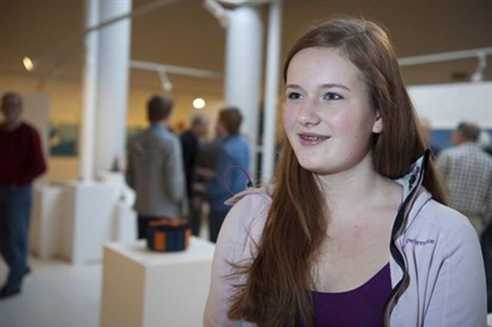 Victoria Klüver Pihl - musikalsk talent på vej.