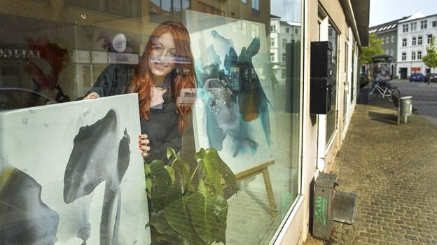 Det er her i Vestergade, Charlotte Zaza snart åbner sit galleri. Foto: Michael Koch