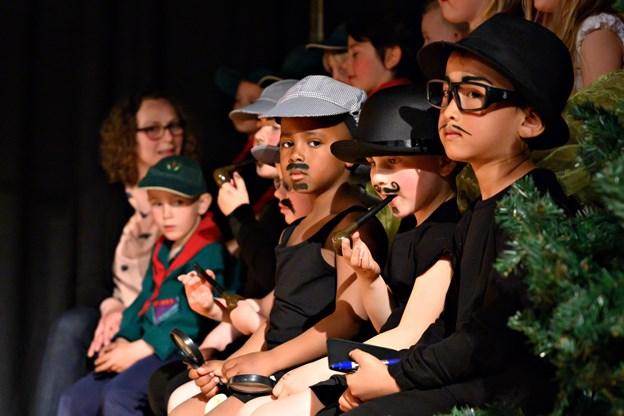 Det er tradition at Børnehaven Sct. Georgsgården har teater med deres ældste børnegruppe. Foto: Kurt Bering Kurt Bering