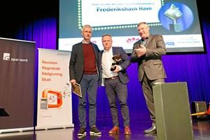 Erhvervspris til Frederikshavn Havn - og iværksætterpris til 23-årig fisker