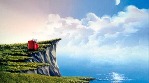 """""""Svævende landskab""""."""