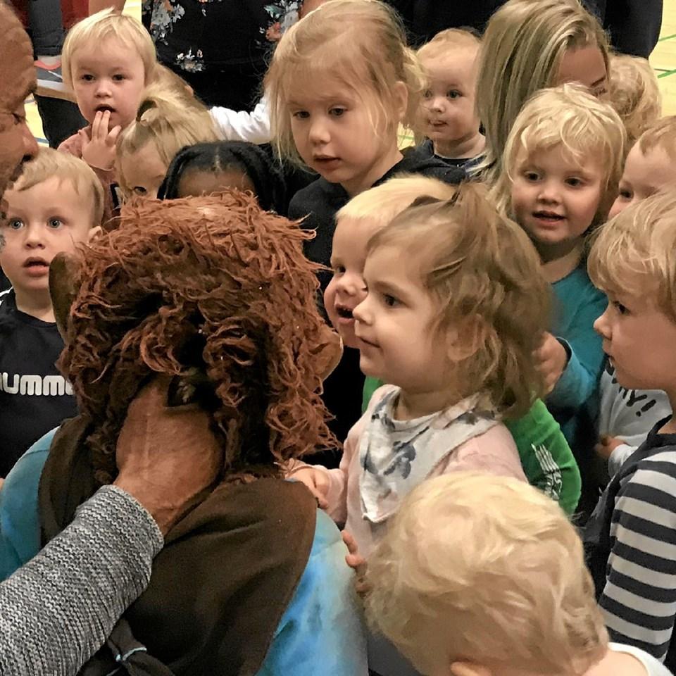 Det var en skøn dag for børnene. Foto: Privat Privat