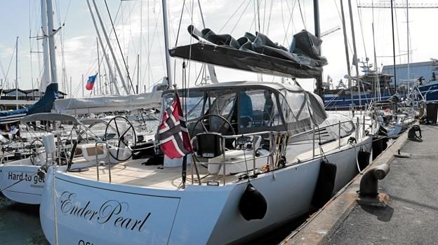 Vinderen af 'Over-All' og 'Line Honour' blev sejlbåden 'EnderPearl' fra Oslo. Foto: Peter Jørgensen Peter Jørgensen