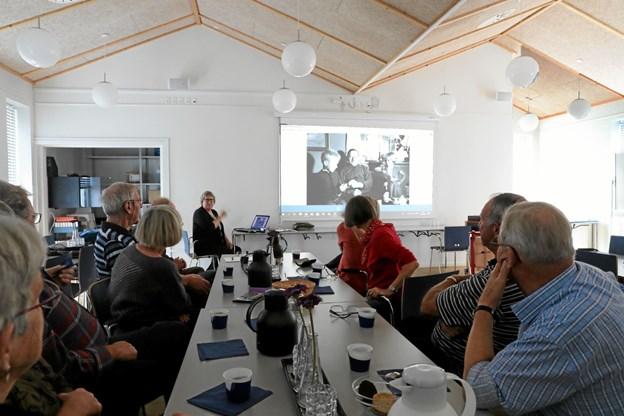 Hals Arkiv inviterer 27. april til historisk værksted i Vester Hassing Sognegård. Billedet er fra et tilsvarende arrangement i Ladegården i Hals. Foto: Allan Mortensen