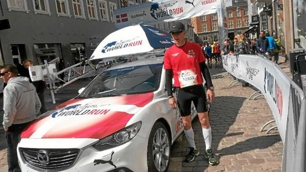 Hvor der er fart over feltet, kan man regne med at finde Dan Højgaard Kristensen.  Privatfoto.