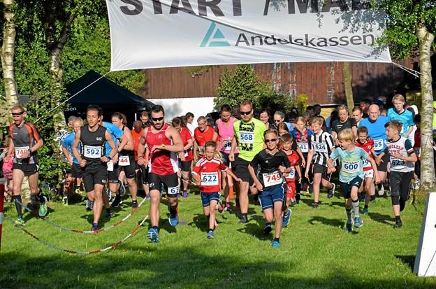 148 deltagere startede i årets udgave af Ardenløbet. Foto: Jesper Bøss