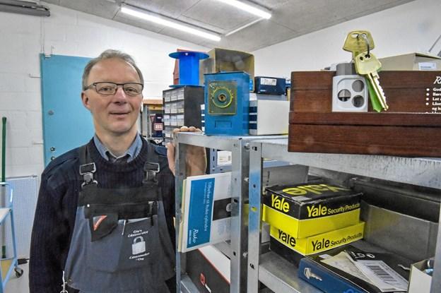 Låsebranchen oplever en stor udvikling i nyt låseudstyr. Foto: Ole Iversen Ole Iversen