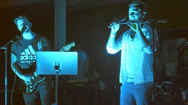 Til festen spillede livebandet The Badgers, der forrige år blev studenter fra Mariagerfjord Gymnasium.