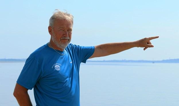 Henrik Rasmussen har været formand i mange år. Foto: Flemming Dahl Jensen Flemming Dahl Jensen
