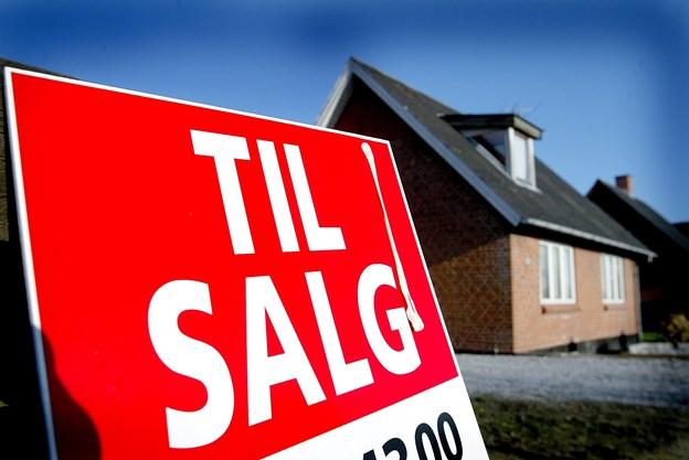 Gennemsnitskvadratmeterprisen i Frederikshavn kommune er steget med 16,8 procent. Arkivfoto: Bente Poder