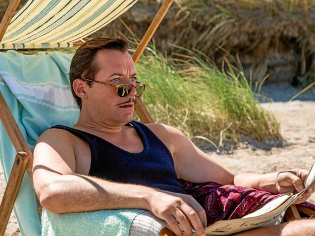 Jens Jacob Tychsen som Edward Weyse i Badehotellet.   Foto: M;ike Kollöfel