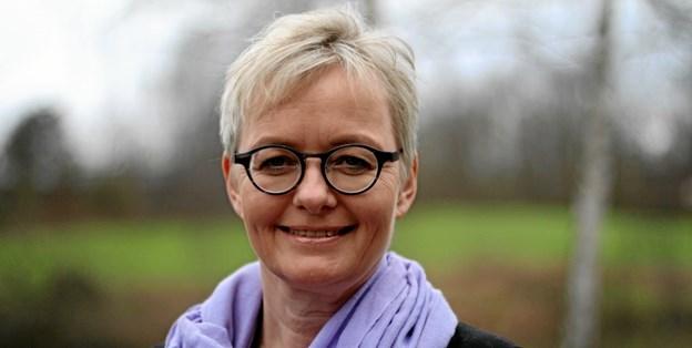 """Foredraget er det femte i en foredragsrække med temaet """"Tro med udtryk"""". Foto: Birgitte Stoklund Larsen"""