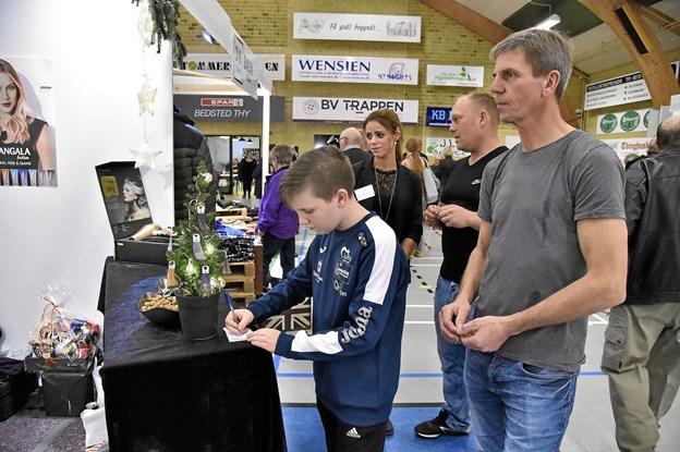 Også hos Salon Malou var der konkurrence. Foto: Ole Iversen Ole Iversen