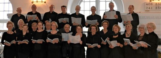 "Skagen Kirkes Motetkor har gennem vinteren arbejdet med Theodore Dubois' store oratorium ""The Seven Last Words of Christ"", som opføres Langfredag kl. 15."
