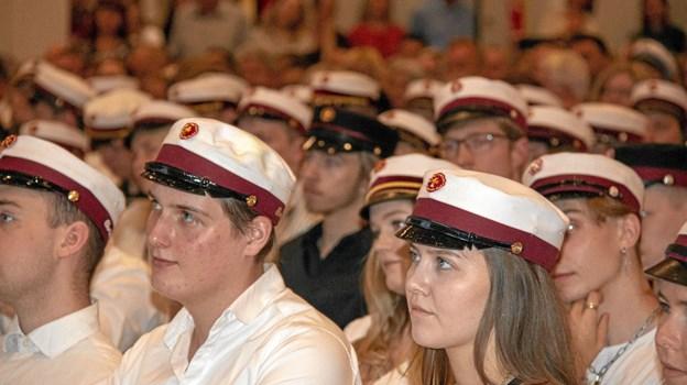 Glade studenter fra Støvring Gymnasium. Foto: Privat