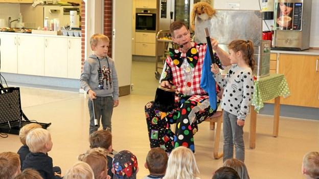 Børnene lære at trylle. Flemming Dahl Jensen