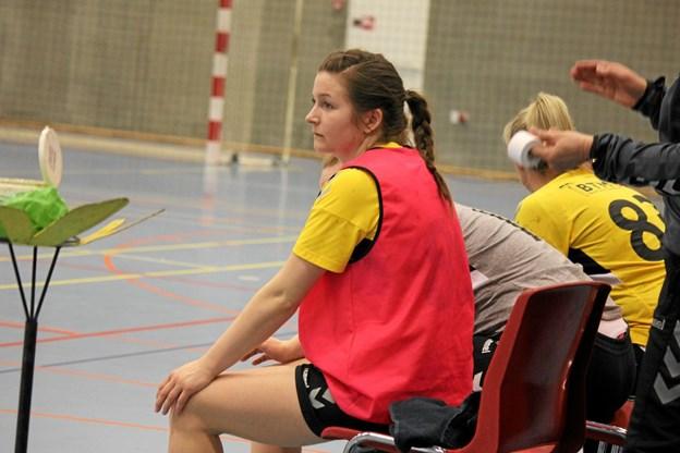 ØHIK, Halvrimmen var klar til at sende en ekstra spiller på banen. Foto: Flemming Dahl Jensen Flemming Dahl Jensen