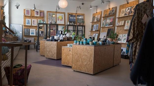Butik Gejst er en lækker blanding af kaffebar, retrofund, design og kunst - alt sammen noget, som Sofie Ellegaard selv kan lide.