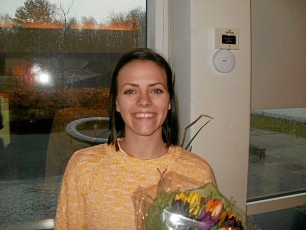 Michelle Rødbro Bengtson gav en spændende beretning om oplevelserne på DGI's verdenshold i gymnastik. Foto: Kjeld Mølbæk