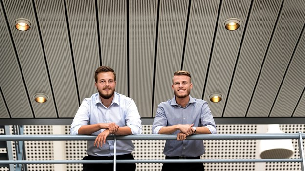 Oliver Thorsen og Marc Storm Andersen er gået i luften med deres nye restaurantplatform, Dinnerlust.