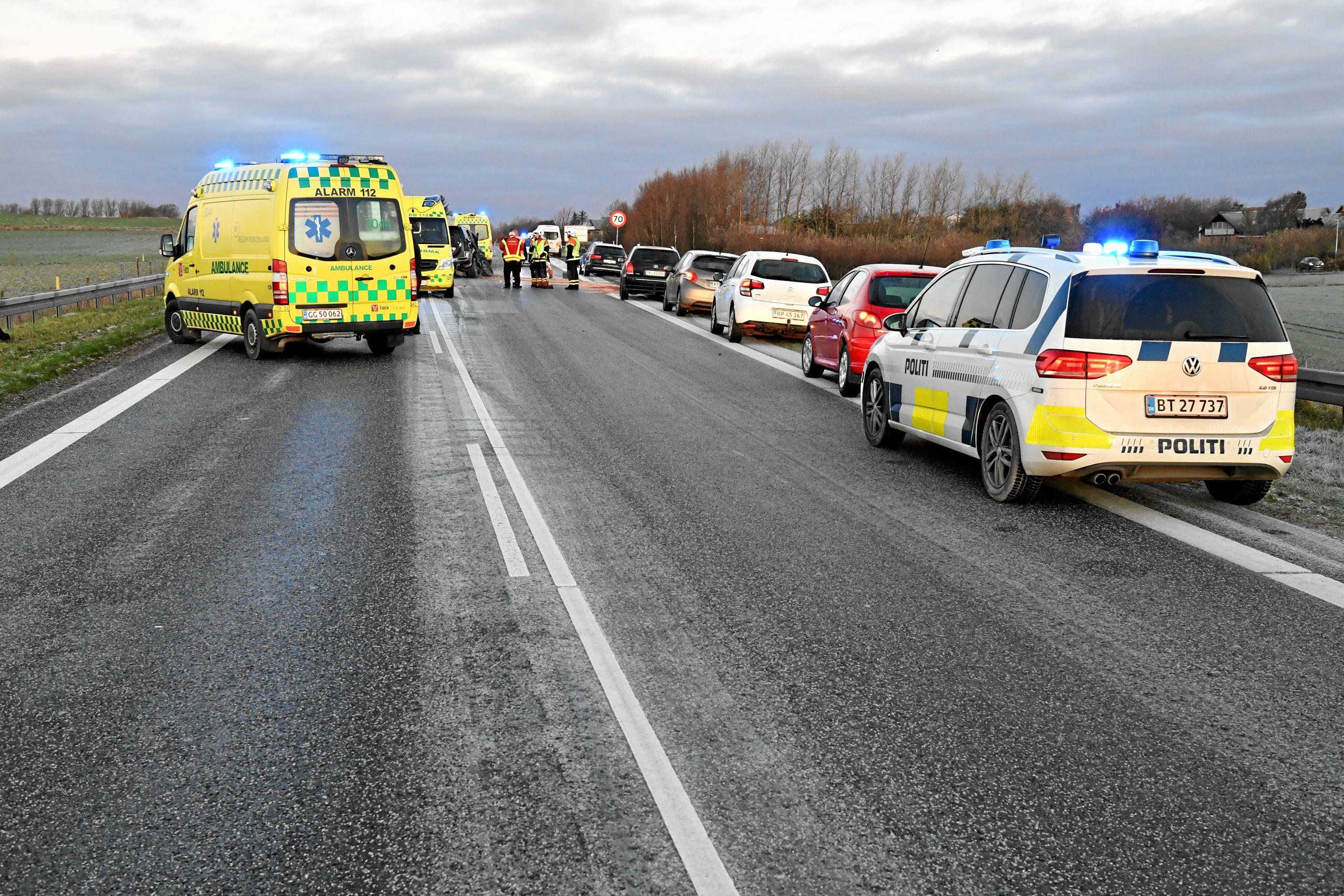 ulykke i nordjylland