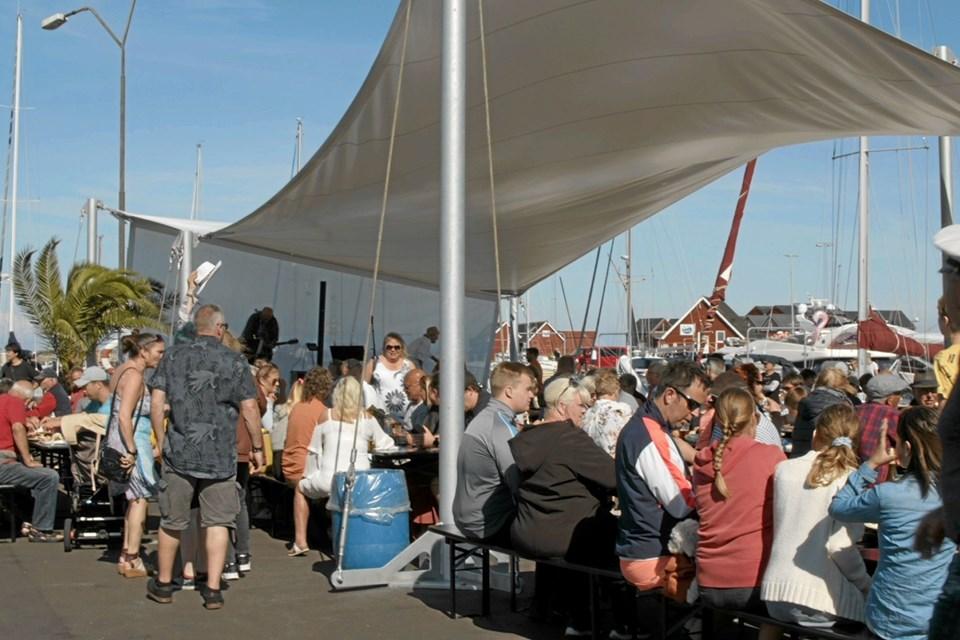 Sidste år slog Sjov på Strandby havn rekord med 13.500 besøgende. Foto: My Hyttel