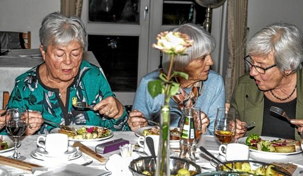 Både generalforsamling og hyggeaften i Nutidens Kvinder. Foto: Mogens Lynge Mogens Lynge