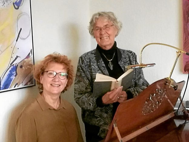 Tamara Søndergaard og Lise Rosendahl. Foto: Privat