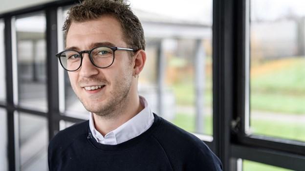 Marcus Delfer er til daglig radiovært på Radio Nordjyske, og han altid det store overblik over, hvad der rør sig i Aalborg. Foto: Nicolas Cho Meier