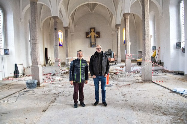 Selve kirkerummet bliver også anderledes. Foto: Kim Dahl Hansen