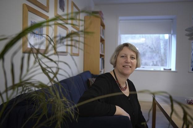 Præst Ingeborg Sebbelin står for de næste tænkepauser i Nykirken i Skørping. Arkivfoto: Michael Bygballe