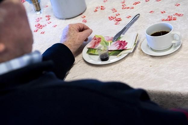 Dagen blev fejret med sang og morgenmad. Foto: Andreas Falck © Andreas Falck