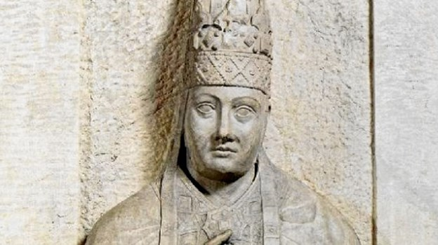 Pave Bonifacius - der indførte allehelgensdag. Arkivfoto.